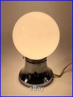 1930's Art Deco CHASE CHROME CONSTELLATION LAMP Walter Von Nessen MACHINE AGE