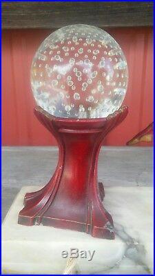 1930s Ignacio Gallo Art Deco Harlequin Pixi Lamp Gerdago Spelter Figural Vintage