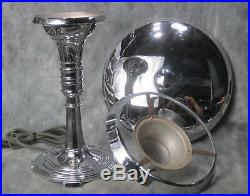 1936 Iconic L. C. Doane Sight Light Machine Age Art Deco Desk Lamp RESTORED