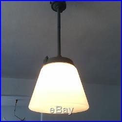 1/10 Modernist BAUHAUS Art Deco INDUSTRIAL LAMP Pendant KANDEM Kaiser Idell Era