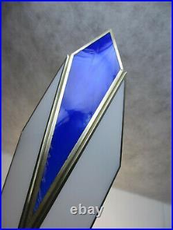 1 von 2 Art Deco Wandlampe Tiffany Glas Stil Wandleuchte Antik Spiegellampe