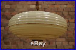 Art Deco Lamp 20er Art Deco Lampe Deckenlampe Bauhaus Lamp Leuchte