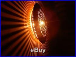 30cm Moroccan Designer Lamp Wall Lamp Sun Wall Light Art Deco Decor, wall sconce