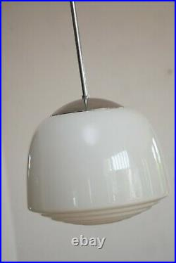 30er 40er 50er Lamp Lampe BAUHAUS Art Deco Opalglas Kandem Stil