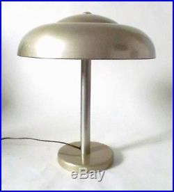 30s WMF lamp Ikora Metall Leuchte Art Deco Lampe Tischlampe Bakelit Schalter