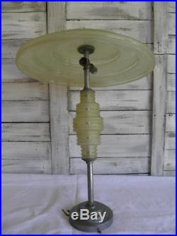 Art Deco Lamp Ancienne Suspension Style Moderniste Art Deco 1930