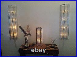 ART DECO BAUHAUS, FRENCH FLOOR LAMP, CLASSIC OCTAGON DESIGN, 60in x 10in