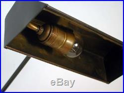ART DECO Bauhaus Bronzed PIANO LAMP Table Lamp BEDSIDE LAMP MOOD LAMP 1930s
