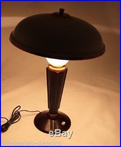 ART DECO Lampe Tischlampe JUMO Balekit Vintage
