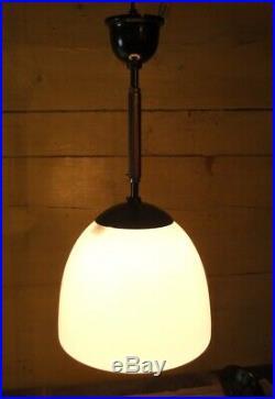 Alte Deckenlampe Pendellampe Leuchte Bauhaus Lampe Art Deco II