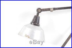 Alte Gelenkarmlampe Werkstattlampe Art Deco Bauhaus Schreibtischlampe lamp