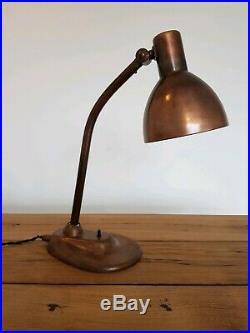 Alte Kandem 679 Schreibtischlampe Marianne Brandt Bauhaus Art Deco Lampe