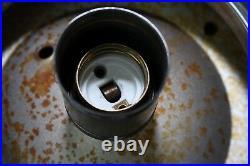 Alte Kugellampe Art Deco Bauhaus Lampe Deckenlampe oder Tischlampe