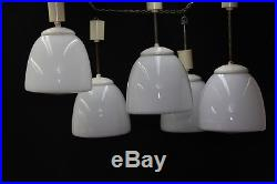 Alte Lampe Glas Art Deco Bauhaus Deckenlampe Pendelleuchte vintage lamp