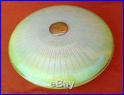 Alte Stab Pendel Leuchte Glas Schirm Art Deco Hänge Lampe 30er 40er Jahre