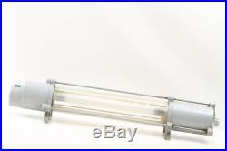 Alte explosionsgeschützte Fabriklampe Loft Ex Lampe Neonlampe Bauhaus Art Deco