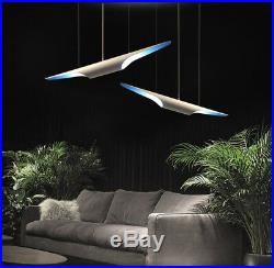 Aluminum Tube Droplight Art Creative Dipped Finish Pipe Chandelier Deco Lamp