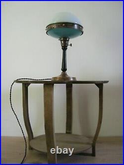 Ancienne Lampe ILRIN modèle n° 124 Bauhaus Art Déco 1930