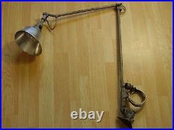 Antike Art deco Werkstattlampe Midgard