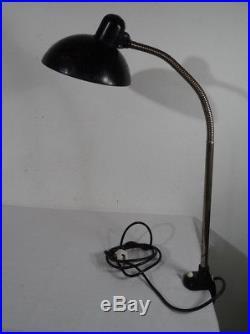 Antike Kaiser Idell Tischlampe Lampe Industrie Design Bauhaus Art Deco 1920-40