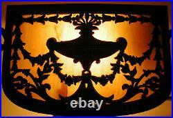 Antique Bankers Desk Table Lamp Art Nouveau Deco PLEASE READ DESCRIPTION