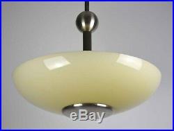 Art Deco Bauhaus Funktionalismus Deckenlampe Mattnickel