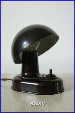 Art Deco Bauhaus Miniature Bakelite Desk Lamp by ESC