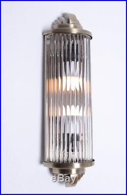 Art Deco Cinema Light Wall Lamp Wall Light Classic Light kinolampe Chrome Glass