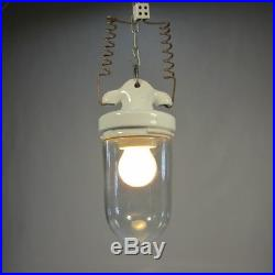 Art Deco Deckenlampe 60er Lampe Glaskolbenlampe Industrielampe Bauhaus Lampe