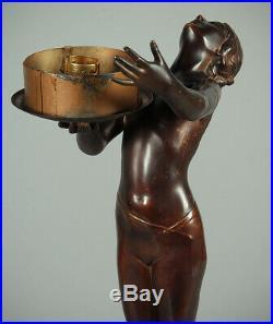 Art Deco Figure Lamp c. 1930