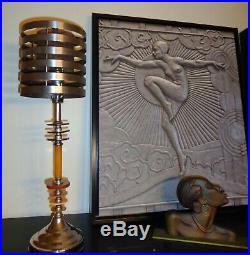 Art Deco Machine Age 1936 Flash Gordon Rocket Ship Lamp