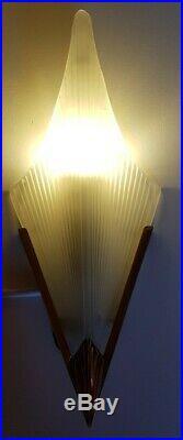 Art Deco Murano Stil Wall light Lamp Wandlampe Barovier Degue Style sconces