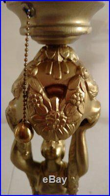 Art Deco/Nouveau Style Table Lamp with Exquisite Detail