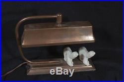 Art Deco Polar Bear Lamp