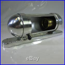 Art Deco Schiffslampe Kajütenlampe Kojenlampe Aluminium Wandlampe Bilderlampe N2