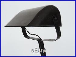 Art Deco Schreibtischlampe Tischlampe Banker Lampe Bakelit Metall