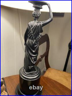 Art Deco Style Figural Lamp Thomas Blakemore Limited Offering C1980 England Rare