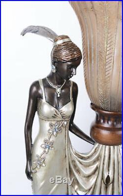 Art Deco Tischlampe Gatsby Leuchte 20er Jahre Lampe Tischleuchte Retro Leuchte