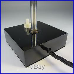 Art Deco Tischlampe Tubus Glasschirm Bauhaus Vintage Tischleuchte Alte Lampe