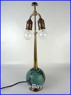 Art Deco WMF Ikora Metall Messing Design Tischlampe Leuchte table lamp 30er 40er