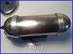 Art Deco Wandlampe Schiebeschirm Kabienenlicht Bauhaus Torpedo Design 1920/30