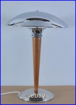 Art deco table lamp, Titan Lightning, 1970's