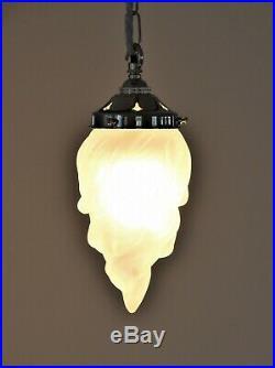 Art deco vintage style pendant light'flame lamp''torch lamp' Brand new