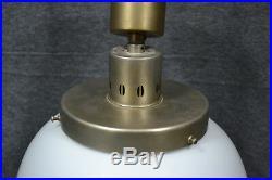 BAUHAUS ART DECO Adolf Meyer Berlin 1930 Ceiling Lamp Industrial Lighting