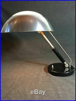 Bauhaus Lampe KARL TRABERT Tischlampe Table Desk Lamp SCHANZENBACH Art Deco