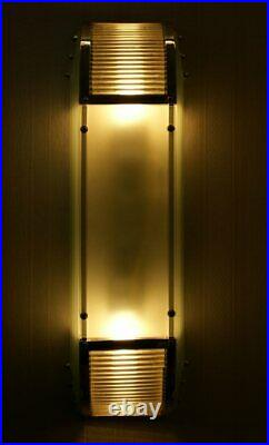 Bauhaus Wandlampe Art Deco Leuchte Kinoleuchte