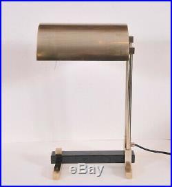 Bauhaus table lamp, Marcel Breuer design, art deco style