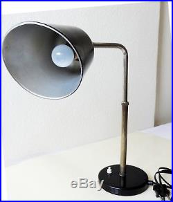 Bünte und Remmler Goethe Christian Dell Desk Lamp Art Deco Bauhaus