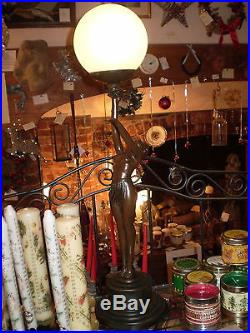 Danish Art Deco Design, Lady Table Mood Lamp, 40 Watt. Style Gr1133