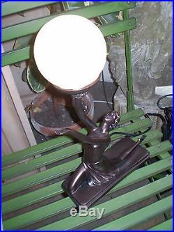 Danish Art Deco Design, Lady Table Mood Lamp, 40 Watt, Style Number Gr1196